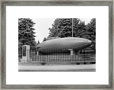 Fenian Ram Submarine Display Framed Print
