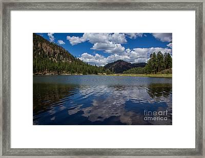 Fenton Lake Reflections Framed Print by Jim McCain