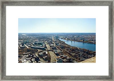 Fenway From The Top Of The Hub Framed Print
