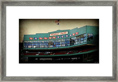 Fenway Memories - 2 Framed Print