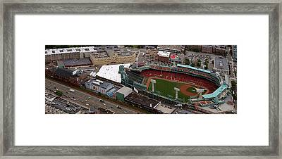 Fenway Panorama Framed Print by Joshua House