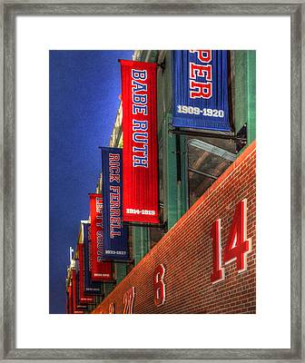 Fenway Park 001 Framed Print by Jeff Stallard
