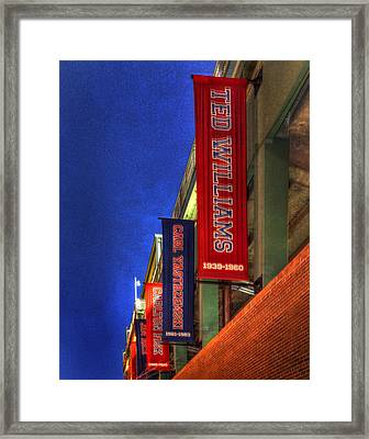 Fenway Park 002 Framed Print by Jeff Stallard