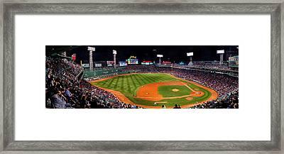 Fenway Park Boston 0476 Framed Print