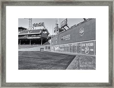 Fenway Park Green Monster II Framed Print by Clarence Holmes