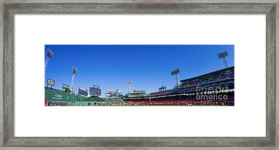 Fenway Park- Home Of The Boston Red Sox Framed Print by Diane Diederich