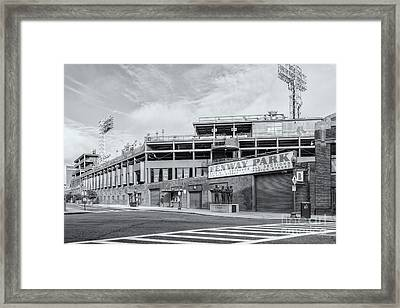 Fenway Park Iv Framed Print by Clarence Holmes