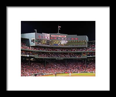 Boston Red Sox Framed Prints