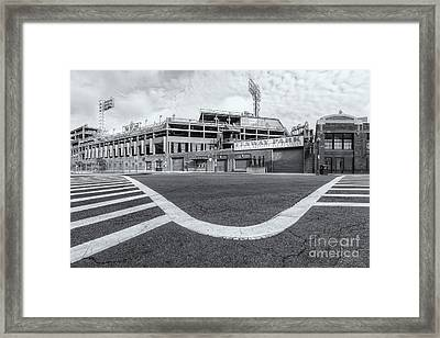 Fenway Park Vi Framed Print by Clarence Holmes