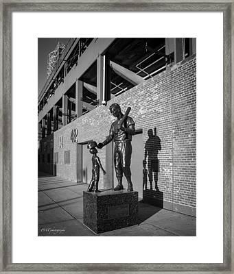 Fenway Framed Print by Paul Treseler