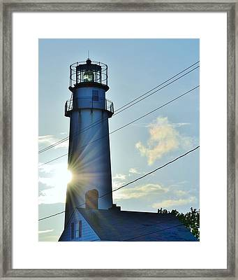 Fenwick Island Lighthouse - Delaware Framed Print