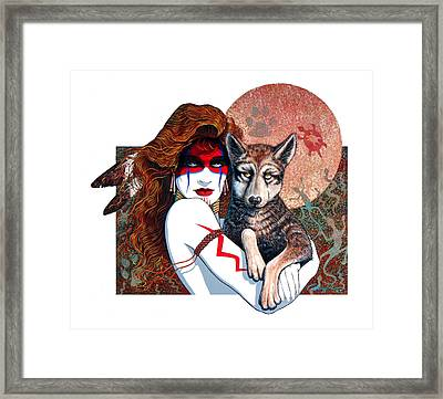 Feral Child Framed Print
