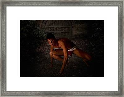 Feral Framed Print by Michael Taggart
