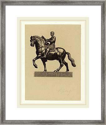 Ferdinand Gaillard After Donatello French Framed Print by Litz Collection