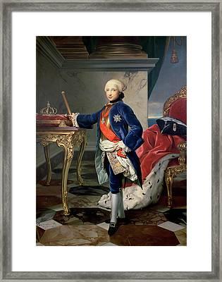 Ferdinand Iv, King Of Naples Framed Print