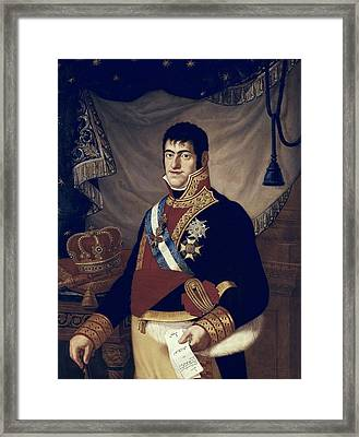 Ferdinand Vii Of Spain 1784-1833. King Framed Print by Everett