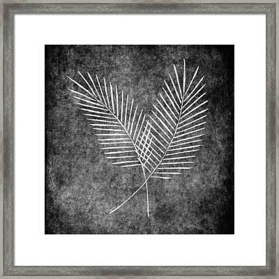Fern Simple Framed Print by Brenda Bryant