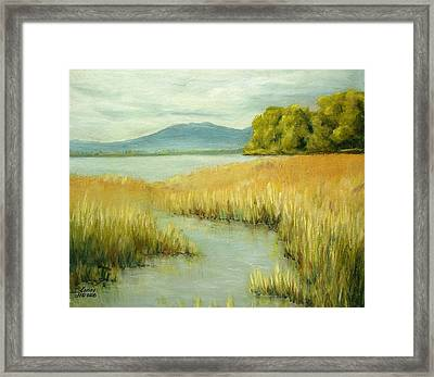 Fernridge Summer Framed Print by Kenny Henson