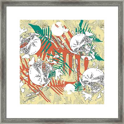Ferns Framed Print by Jocelyn Friis