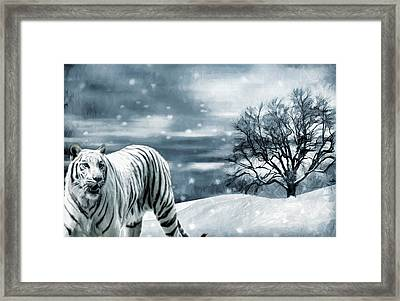 Ferocious Beauty Framed Print by Lourry Legarde