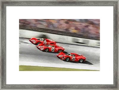 Ferrari 1967 Daytona Framed Print