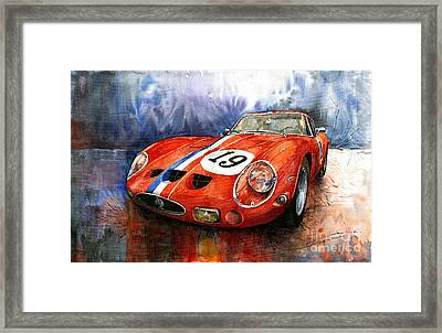 Ferrari 250 Gto 1963 Framed Print by Yuriy  Shevchuk