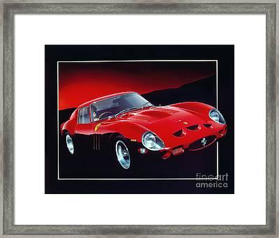 Ferrari 250 Gto Framed Print by Gavin Macloud