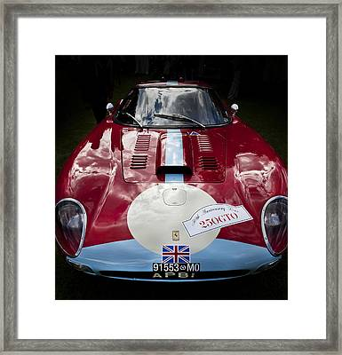 Ferrari 250 Gto Scaglietti 64 C Framed Print