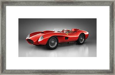 Ferrari 250 Testa Rossa - Spirit Framed Print by Marc Orphanos