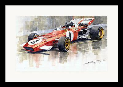 Formula 1 Framed Prints