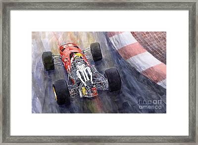 Ferrari 312 F1 1967 Framed Print