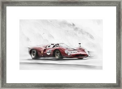 Ferrari 330 P Series Framed Print