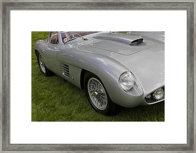 Ferrari 365mm Scaglietti Berlinetta 1954 Framed Print by Maj Seda