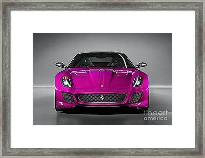 Ferrari 559 Gto Sports Car Framed Print