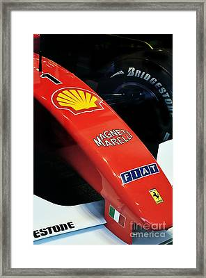 Ferrari  Framed Print by Andres LaBrada
