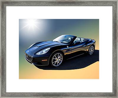 Ferrari California Framed Print by Douglas Pittman