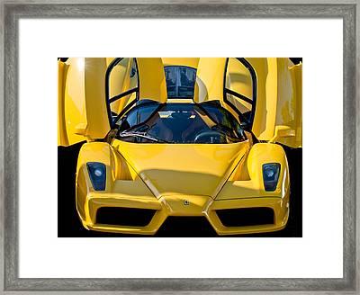 Ferrari Enzo Framed Print