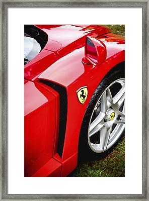 Ferrari Enzo Framed Print by Phil 'motography' Clark