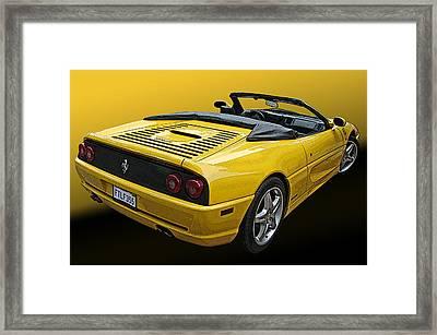 Ferrari F355 Spider Framed Print