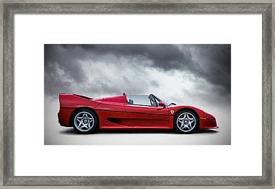 Ferrari F50 Framed Print by Douglas Pittman
