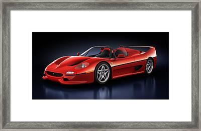 Ferrari F50 - Phantasm Framed Print