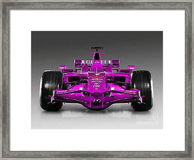 Ferrari Formula 1 Framed Print by Marvin Blaine