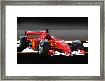 Ferrari Formula One F1 Framed Print by Dave Koontz