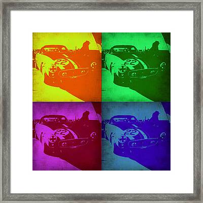 Ferrari Gto Pop Art 1 Framed Print by Naxart Studio