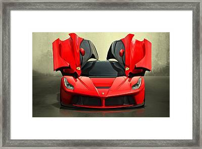 Ferrari Laferrari F 150 Supercar Framed Print