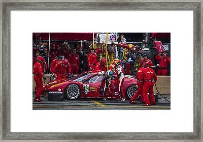 Ferrari Of Vancouver Framed Print by Bill Linhares