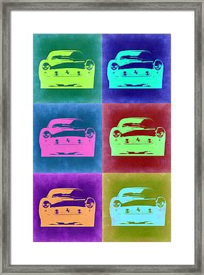 Ferrari Pop Art 2 Framed Print