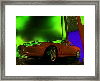 Ferrari Sees The Light Framed Print