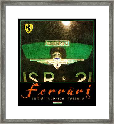 Ferrari Two Framed Print