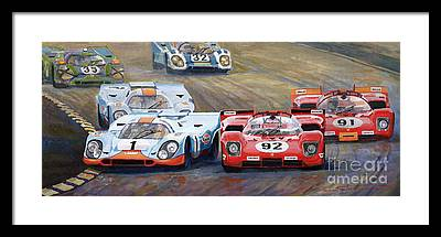 Automotive Framed Prints